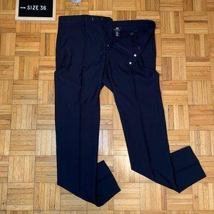 NWOT H&M Dark Blue Skinny Fit Dress Pants